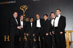 Picture of award winners at the Eurekahedge Asian Hedge Fund Awards 2008