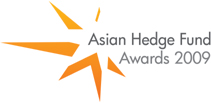 Logo of the Eurekahedge Asian hedge fund awards 2009