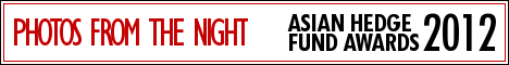 Banner for the photos from the night of Eurekahedge Asian hedge fund awards 2012
