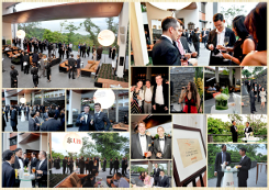 Photo collage of pictures taken at Bob's Bar, Capella at the Eurekahedge Asian Hedge Fund Awards 2013