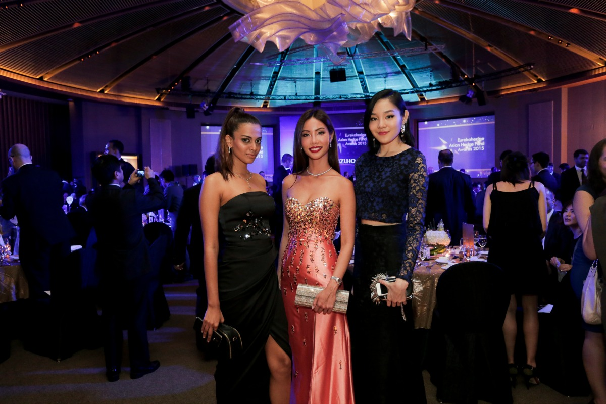picture of the misses Singapore at the Eurekahedge Asian Hedge Fund Awards 2015