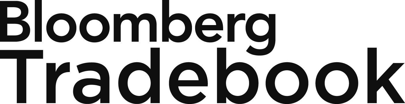 Logo of Bloomberg Tradebook sponsor at the Eurekahedge Asian hedge fund awards 2015
