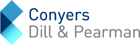 Logo of Conyers Dill & Pearman, sponsor at the Eurekahedge Asian hedge fund awards 2015
