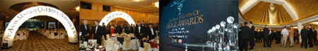 Collage of pictures from Eurekahedge Asian Hedge Fund awards 2006
