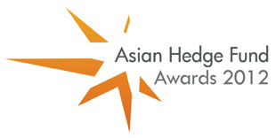 Logo of Eurekahedge Asian hedge fund awards 2012