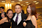 Picture of guests at the cocktail bar at the Eurekahedge Asian Hedge Fund Awards 2011