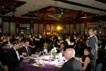 Picture of all the guests seated at the Eurekahedge Asian Hedge Fund Awards 2011