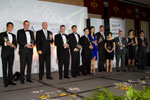 Picture of all winners at the Eurekahedge Asian Hedge Fund Awards 2011