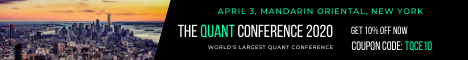 Hedge Fund Event - The Quant Conference 2020