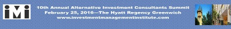 Hedge Fund Event - Alternative Investment Consultants Summit February 2016