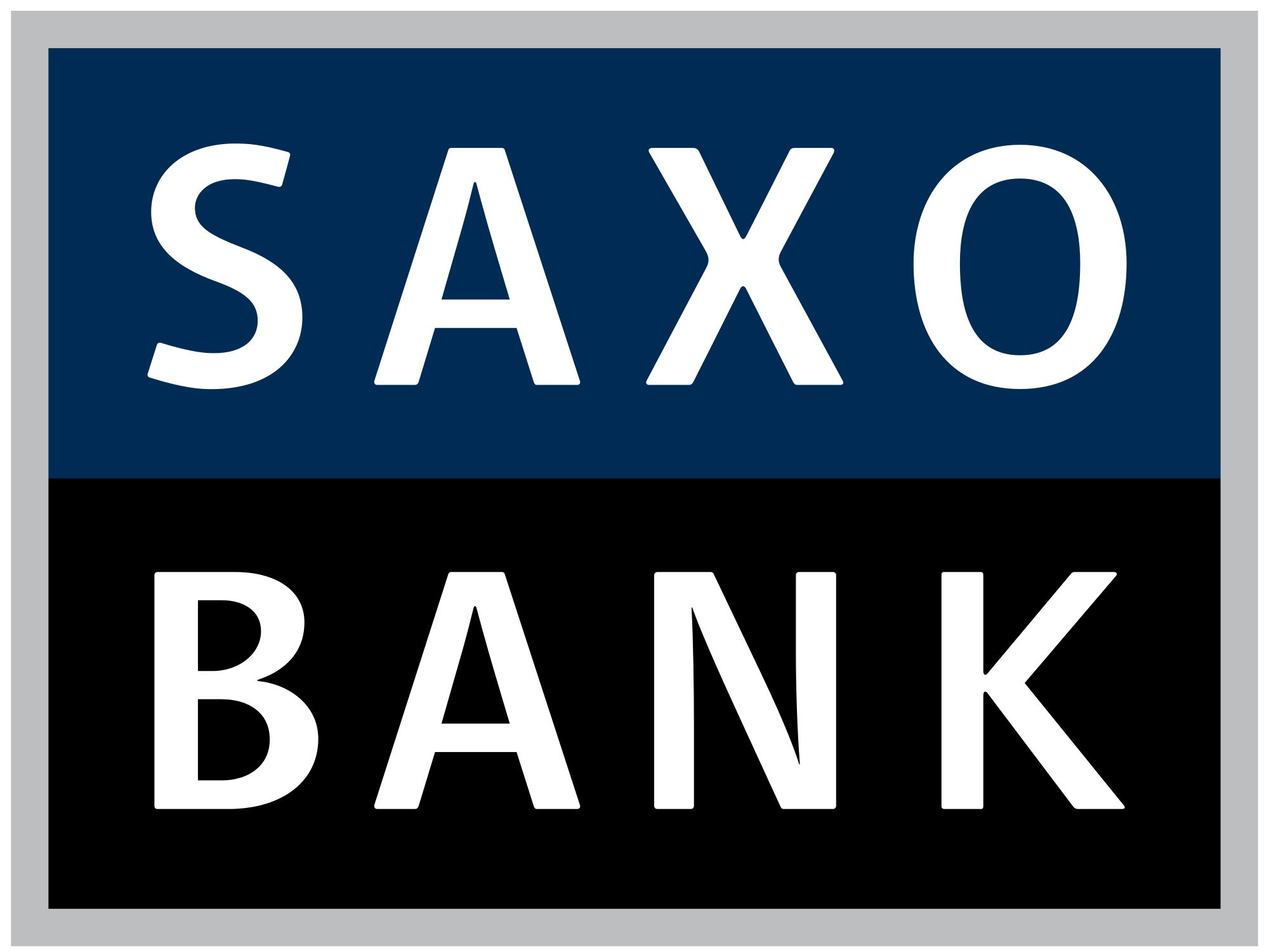 Logo of Saxo Bank, sponsor at the Eurekahedge Asian Hedge Fund Awards 2016
