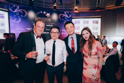 Guests at the ballroom of Capella at the Eurekahedge Asian Hedge Fund Awards 2016
